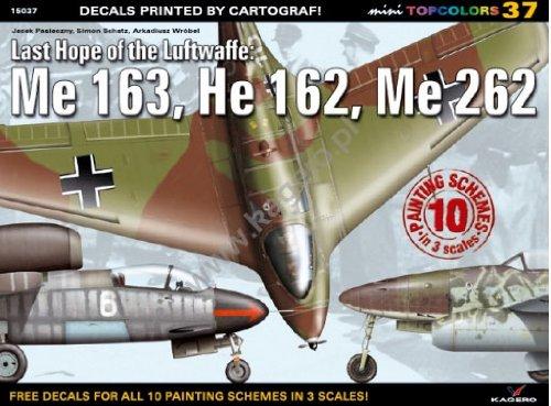 Last Hope of the Luftwaffe: Me 163, He 162, Me 262 (Mini Topcolors, Band 37)
