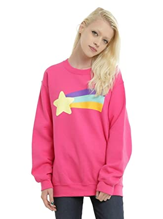 91a9c890085e1 Gravity Falls Mabel's Rainbow Star Sweater Sweatshirt