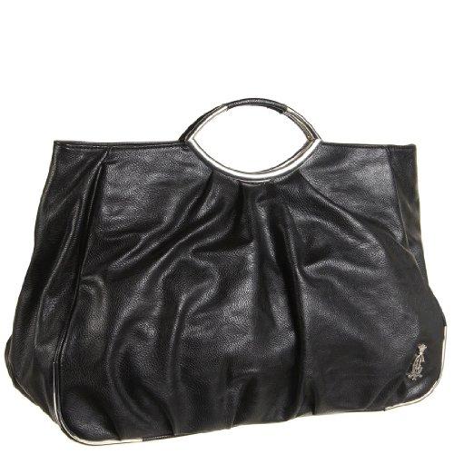 Audigier Bag - Christian Audigier Ashley Tote Bag - Black