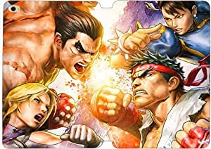 iPad Mini 4 funda,[PU del tirón del cuero] Tekken Street Fighter [Theme] iPad Mini 4 funda GK6916
