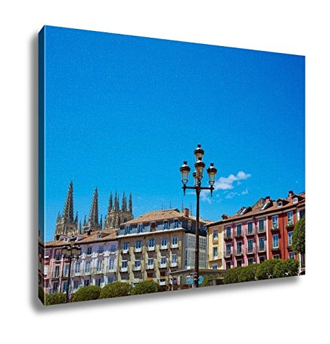 Ashley Canvas, Burgos Plaza Mayor Square In Castilla Leon Of Spain, Home Decoration Office, Ready to Hang, 20x25, AG5478550 by Ashley Canvas