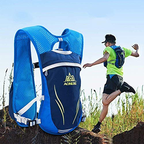 Amazon.com: KAIRUIER Water Bag Backpack Running Backpacks Lightweight Hydration Pack Functional Running Vest 5.5L Off-Road Women and Mens Outdoor Riding ...