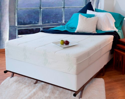 "10"" Night Therapy Pressure Relief Memory Foam Mattress & ..."