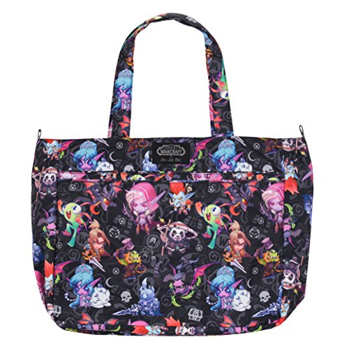 Ju-Ju-Be World of Warcraft Collection Super Be Zippered Tote Diaper Bag, Cute But Deadly