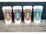 Best Starbucks Friend Gifts For Hers - Starbucks Cup, Starbucks Personalized Coffee Cup, Plastic Starbucks Review