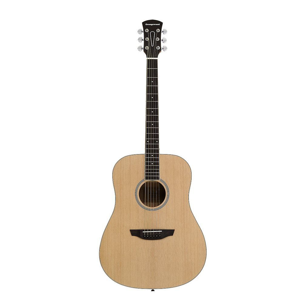 Amazon.com: Orangewood Manhattan Dreadnought Acoustic Guitar with Spruce Top, Ernie Ball Earthwood Strings, and Premium Padded Gig Bag Included: Musical ...