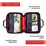 First-Aid-Kit-115-pieces-Complete-Emergency-kit-for-Car-Home-Travel-Office-Sports-or-Survival-Medical-Bag-fully-stocked-with-high-quality-supplies