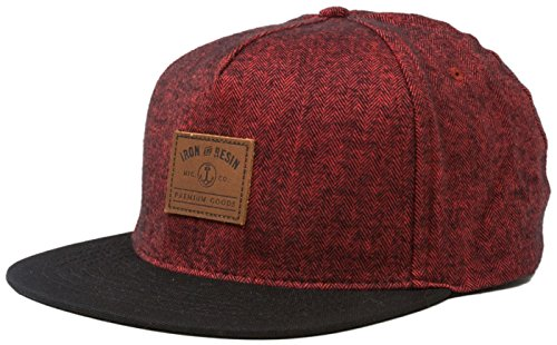 Iron & Resin Sespe Hat - Oxblood