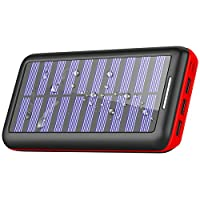 Solar Charger Portable Charger 24000mAh ...