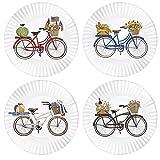 Mary Lake-Thompson Summer Bikes 9-inch Melamine