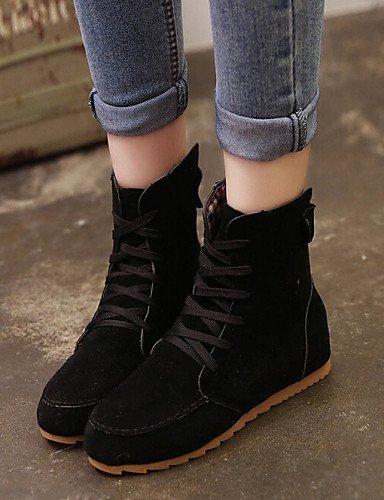 Negro Black Zapatos Xzz 5 Casual Uk6 De Sintético Mujer Eu38 us8 Caqui Botas Cn39 Comfort Cn38 Rojo Tacón Uk5 Green Ante us7 Cuña 5 Botines Eu39 Pdqdw6xr