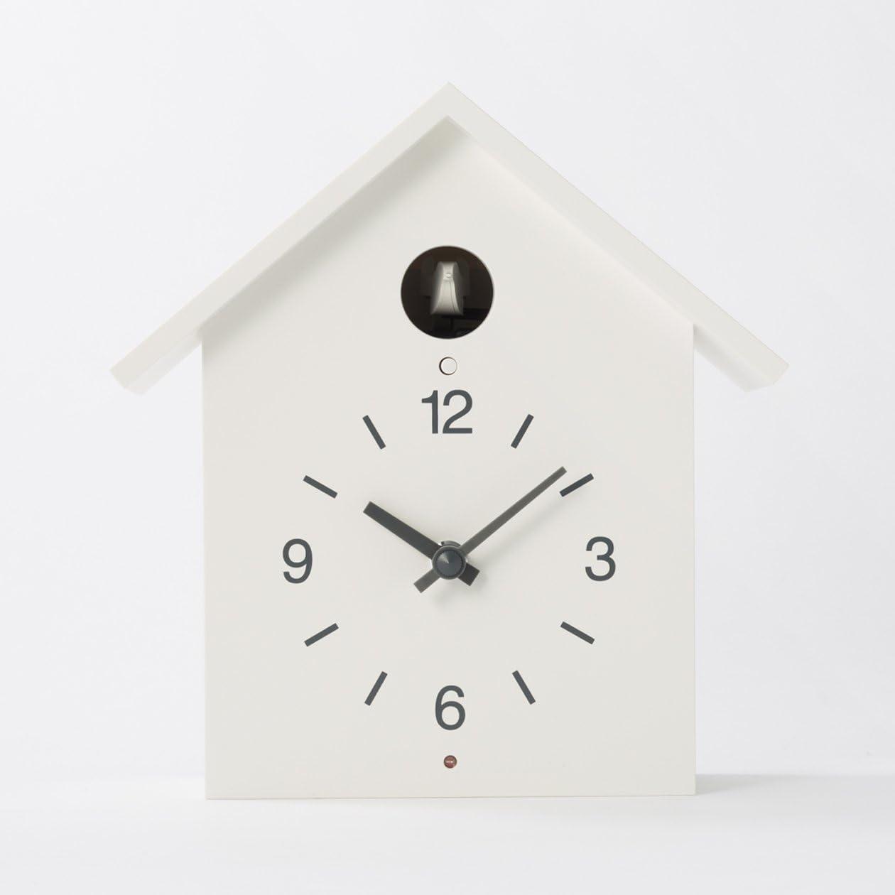 MUJI Cuckoo Clock White – Large size