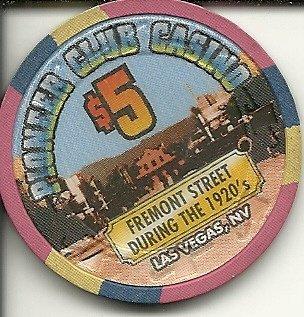 $5 p club casino fremont street las vegas casino chip