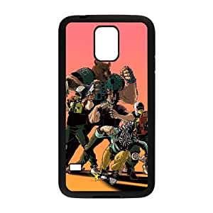Samsung Galaxy S5 Cell Phone Case Black_Hotline Miami 2 Wrong Number 23 Bwxfe