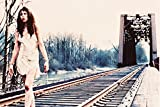 Twin Peaks cult tv series Ronette Pulaski as girl walking on train tracks 18x24 Poster