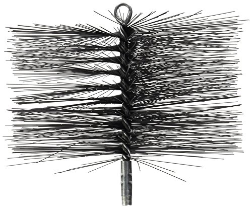 (Rutland 36531 Rectangular Wire Chimney Sweep Brush, 10 by 6-Inch)