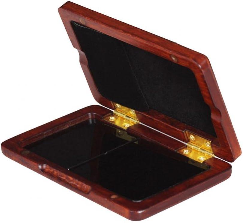Dilwe Caso Reed, Caja de Madera Portátil del Titular de Lámina de Nogal Negro para 2Pcs Cañas de Clarinete Saxo(Ámbar Rojo): Amazon.es: Deportes y aire libre