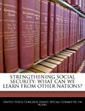 Strengthening Social Security, , 1240499574