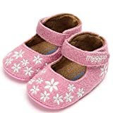 Voberry- Baby Girl Princess Shoes Embroidery Cotton Shoes Fashion Toddler First Walkers Shoes