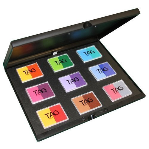 TAG Face Paint 9x50g Color Split Cake Palette - Regular (50 -