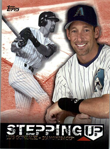 Luis Gonzalez Baseball (2015 Topps Stepping Up Baseball Card IN SCREWDOWN CASE Stepping Up #SU-15 Luis Gonzalez NM-MT)
