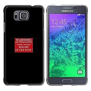 EJOY---Cubierta de la caja de protección la piel dura para el / Samsung ALPHA G850 / --El cuidado SE GUARDA
