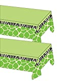 Wild at One Safari Themed Party Tablecover - Pack of 2