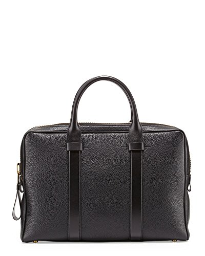 Tom Ford Men's Buckley Black Medium Briefcase