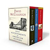 img - for David McCullough: Great Achievements in American History: The Great Bridge, The Path Between the Seas, and The Wright Brothers book / textbook / text book