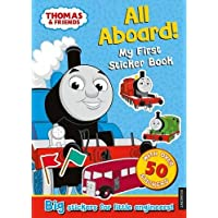 Thomas the Tank Engine All Aboard! My First Sticker Book