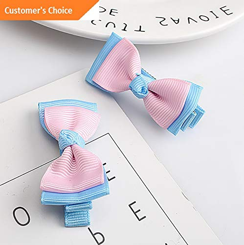 - Hebel 7 Pcs/set Baby Kids Girl Hairband Hairpin Gum Cute Hair Bow Headwear Hair Clip | Model HRPN - 5345 |