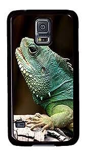 customizable Samsung Galaxy S5 cover Iguana Animal PC Black Custom Samsung Galaxy S5 Case Cover