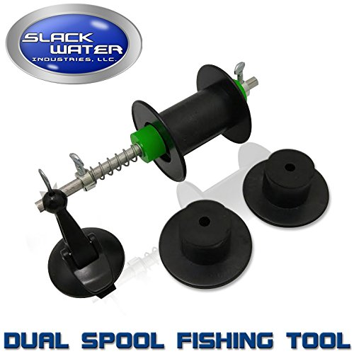 Slack Water Industries Portable Fishing Line Winder and S...