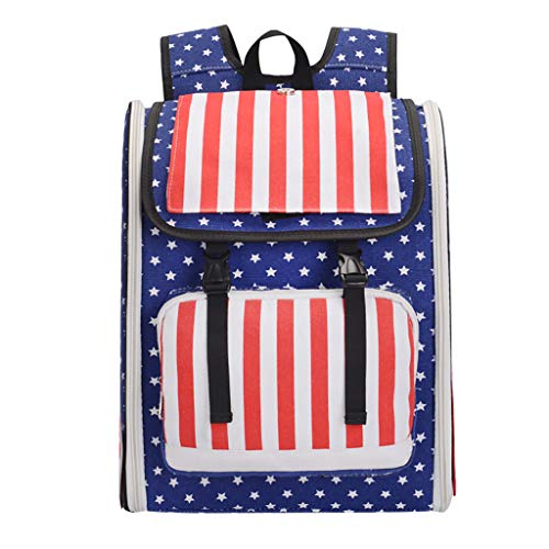 YEZIJIN Pet Puppy Carrier Outdoor Travel Comfort Travel Tote Breathable Backpack Outdoor Under ()