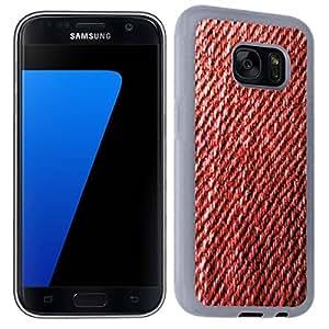 Accesorio Carcasa Funda–Funda original para Samsung Galaxy S7RED Jean