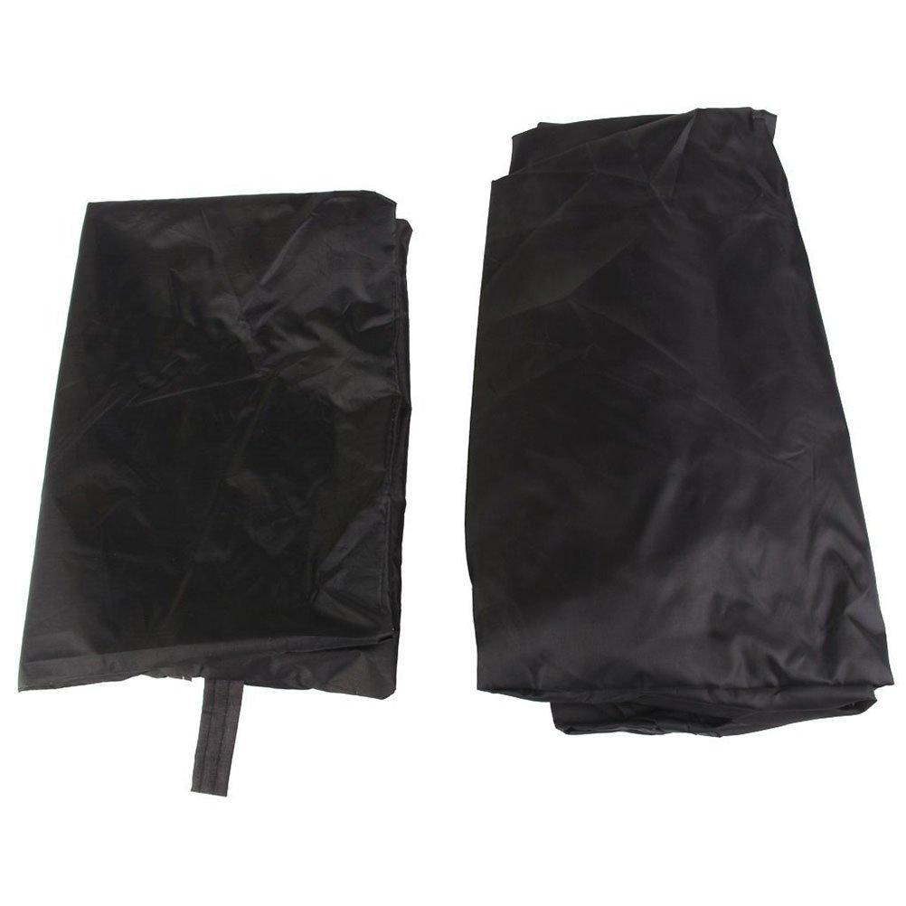 PIXNOR - para barbacoa impermeable con bolsa de almacenamiento, 77 cm redonda, color negro: Amazon.es: Bricolaje y herramientas