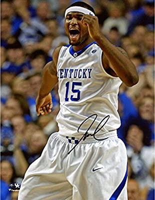 "DeMarcus Cousins Kentucky Wildcats Autographed 8"" x 10"" Yelling Photograph - Fanatics Authentic Certified"