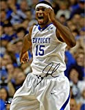 """DeMarcus Cousins Kentucky Wildcats Autographed 8"""" x 10"""" Yelling Photograph - Fanatics Authentic Certified"""