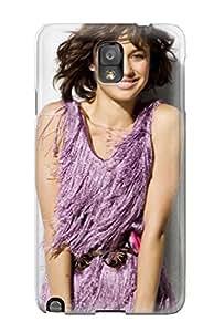 Durable Defender Case For Galaxy Note 3 Tpu Cover(olga Kurylenko 27)