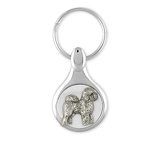 Bichon Frise llavero joyería plata de ley hecha a mano perro ...