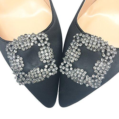 MERUMOTE - Zapatos de tacón fino Mujer Negro - negro