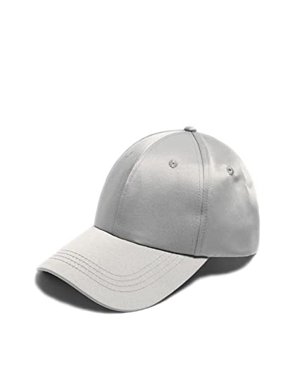 b9577859c86 Wanmingtek Unisex Baseball Hat Satin Solid Color Polyester Comfortable  Fashion Adjustable Baseball Cap Sports Hat Hip Hop Cap for Adult Boys Girls  Women Men ...