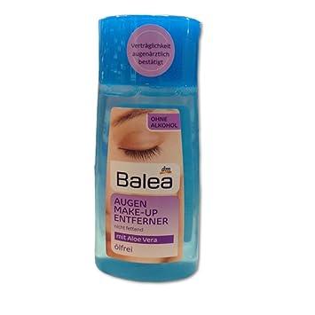 Top Balea Augen Make-Up Entferner flüssig mit Aloe Vera, ölfrei (100ml &EM_57