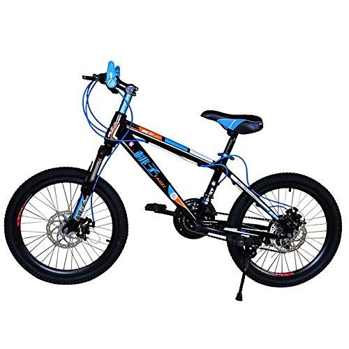 MASLEID bicicleta de montaña de 20 pulgadas para niños y niñas , black: Amazon.es: Deportes y aire libre