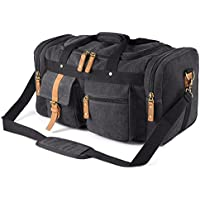 Plambag PB086DG Canvas Duffel Bag