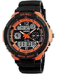 Men's 50M Waterproof Sport Watch Outdoor Mountaineering...