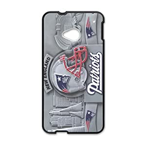 Happy New England Patriots Cell Phone Case for HTC One M7