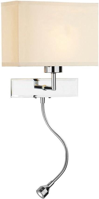 LED Wall Light Sconce Indoor Bedroom Bedside Living Room Night Reading Lamp UK