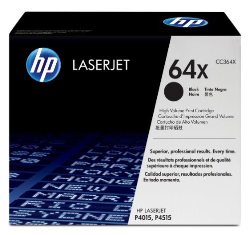 HP CC364X LaserJet 64X Print Cartridge – Retail Packaging – Black, Office Central