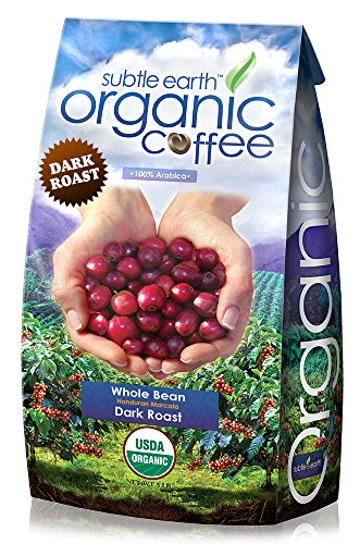5LB Cafe Don Pablo Subtle Earth Organic Gourmet Coffee - Dark Roast - Whole Bean Coffee - USDA Certified Organic Arabica Coffee - (5 lb) Bag